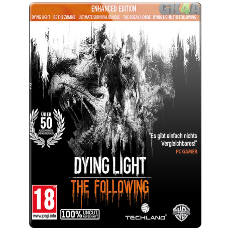 Dying Light The Following - Enhanced Edition CD Key - Steam