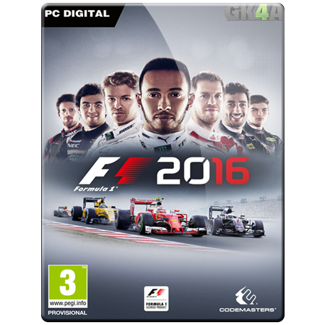 F1 2016 CD Key - Steam