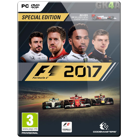 F1 2017 Special Edition CD Key - Steam