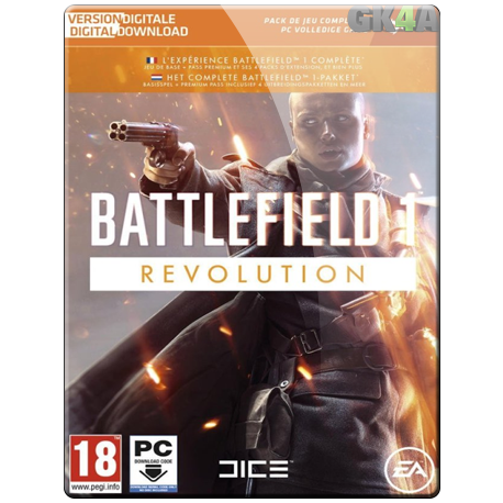 Battlefield 1 Revolution CD Key - Origin