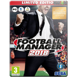 Football Manager 2018 Limited Edition EU CD Key - Steam