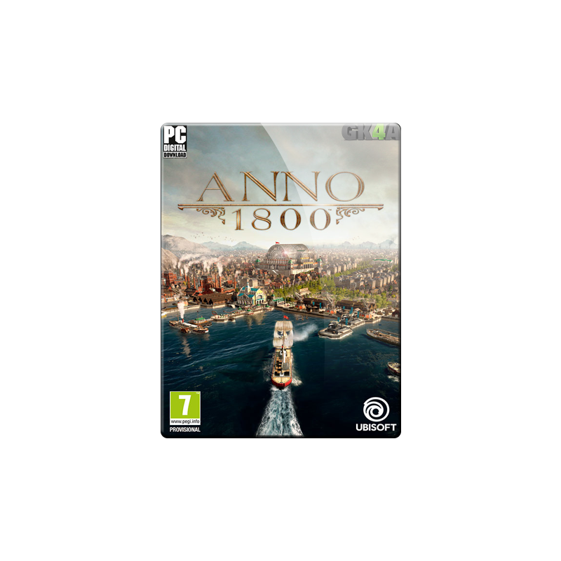 Anno 1800 EU CD Key - Uplay - GameKeys4all - Direct to Your Games List