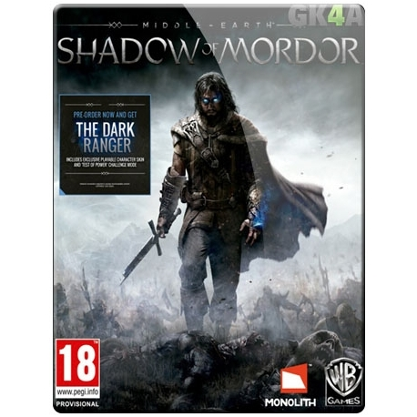 Middle-earth Shadow of Mordor Standard CD Key - Steam
