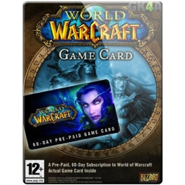 World of Warcraft 60 DAYS Time Card EU