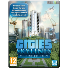 Cities Skylines Deluxe Edition CD Key - Steam