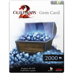 Guild Wars 2 Gems 2000 GameCard - NCSOFT
