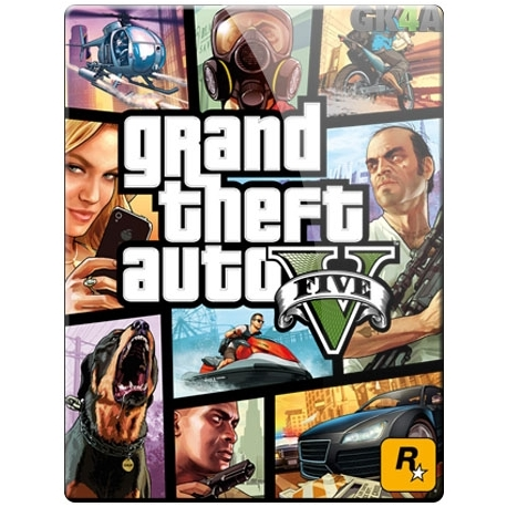 GTA V - Grand Theft Auto V Standard - Rockstar Games